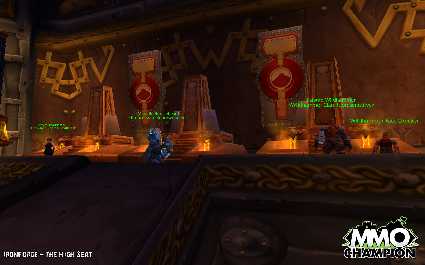 how to use a forge in wow
