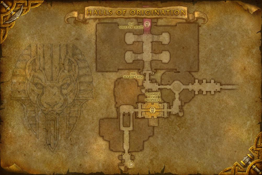 of Origination in Uldum, one