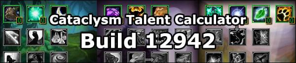 Cataclismo Calculadora De Talentos