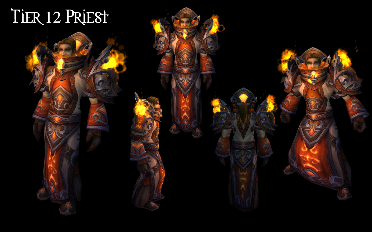 Tier 12 Armor Set Preview -- Paladin, Mage, Rogue, Hunter ...