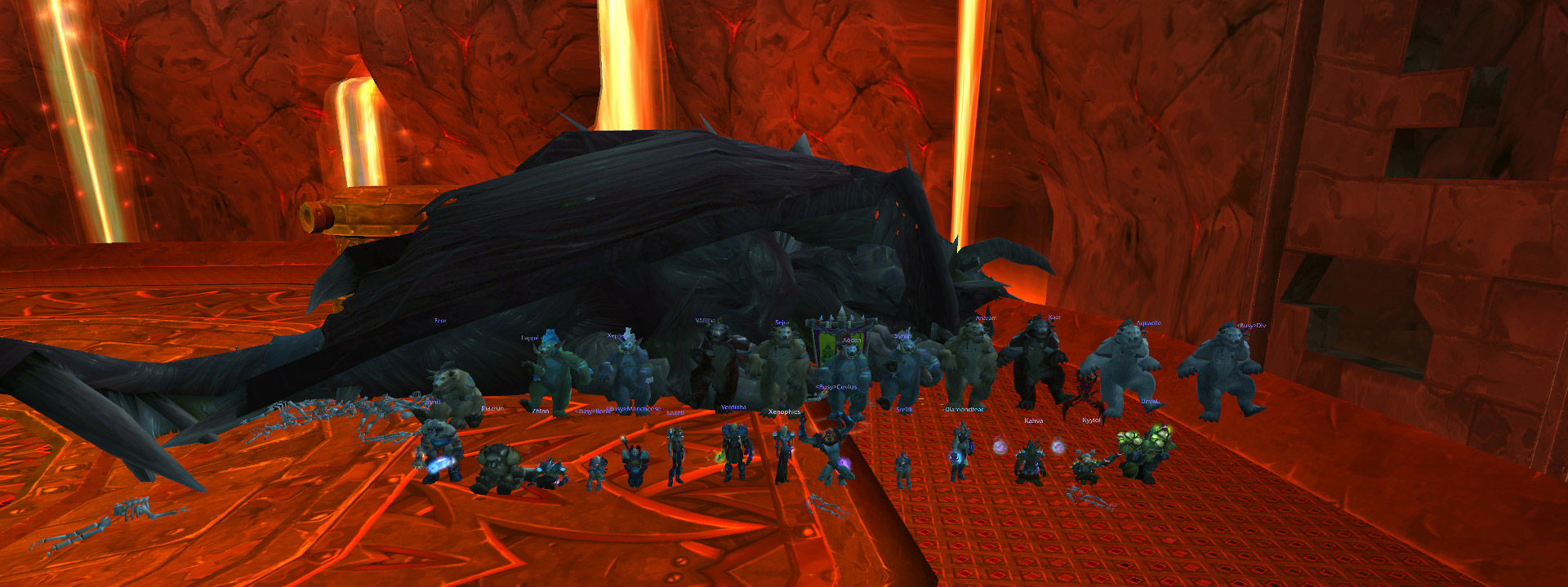 Nefarian World First Kill, Archaeology Helper, MMO Report, Comics