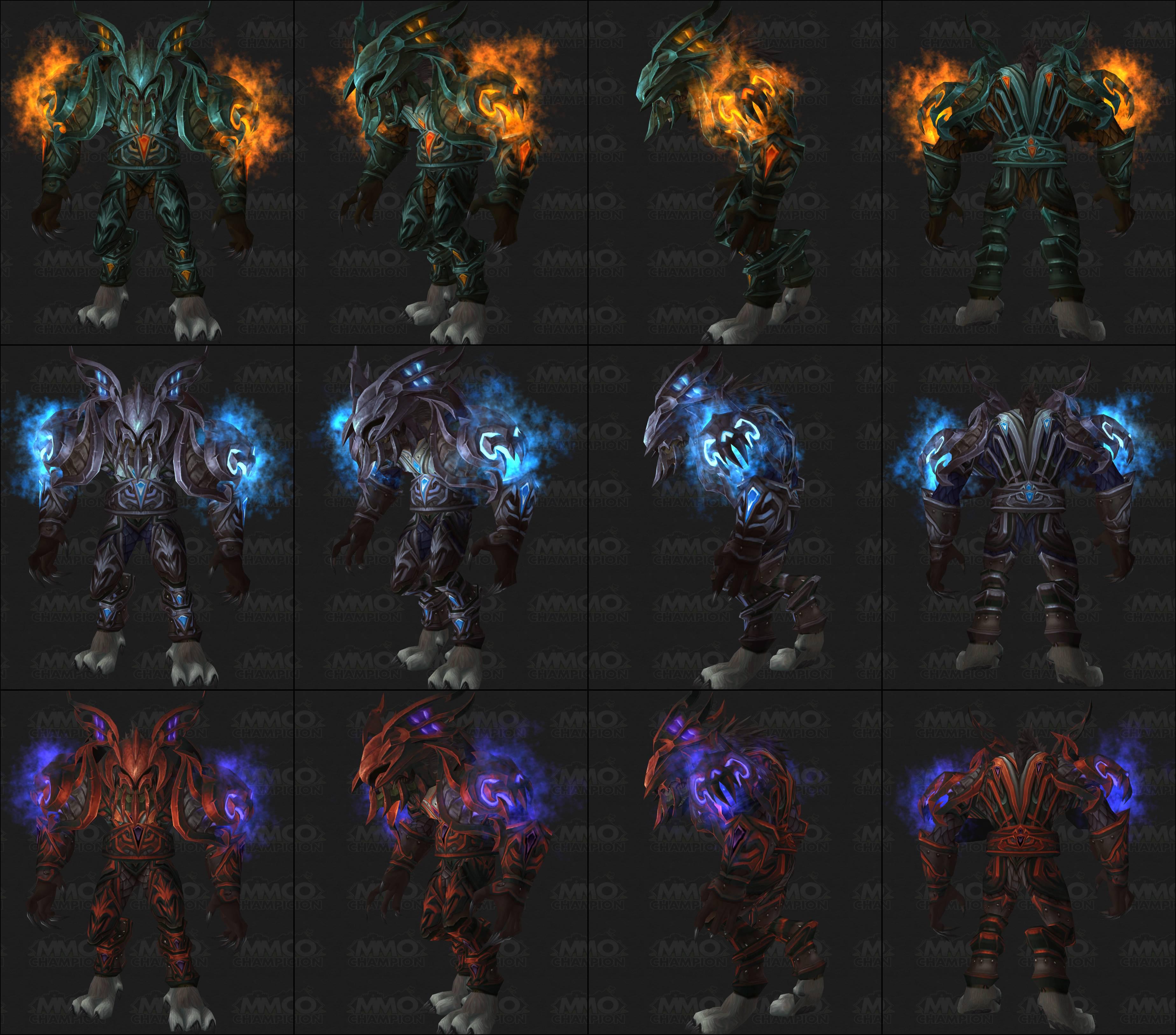 Worgen+Dk http://warcraftwallpaper.com/Worgen_Death_Knight-59.html