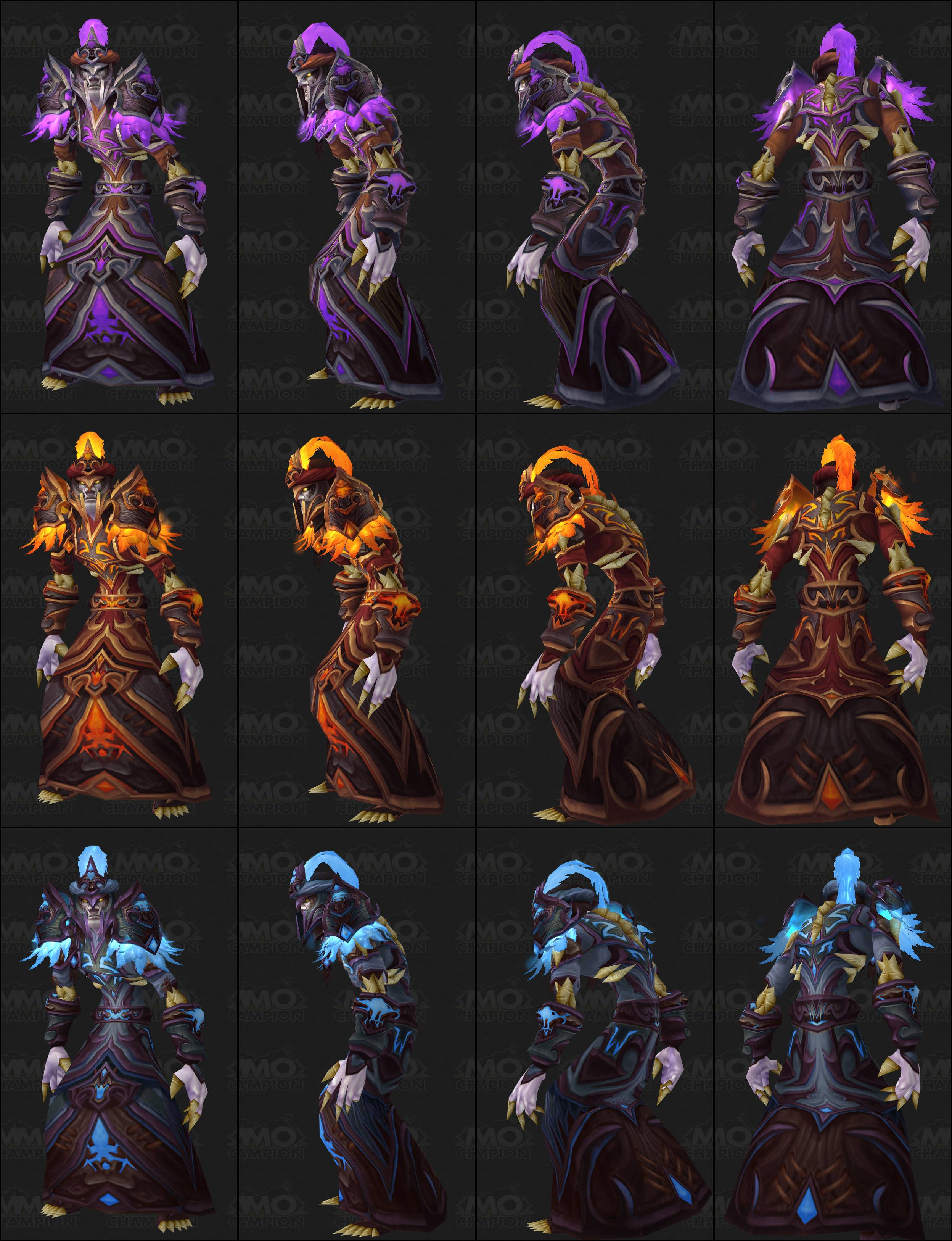 how to get season 11 armour wow