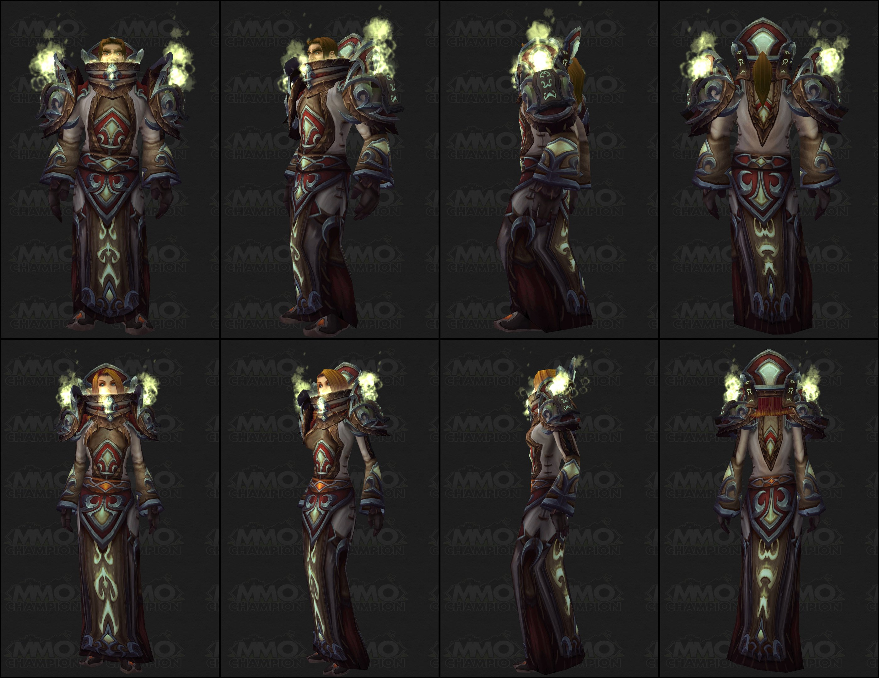 Patch 4.2 Tier 12 Armor Sets!! | World of Warcraft