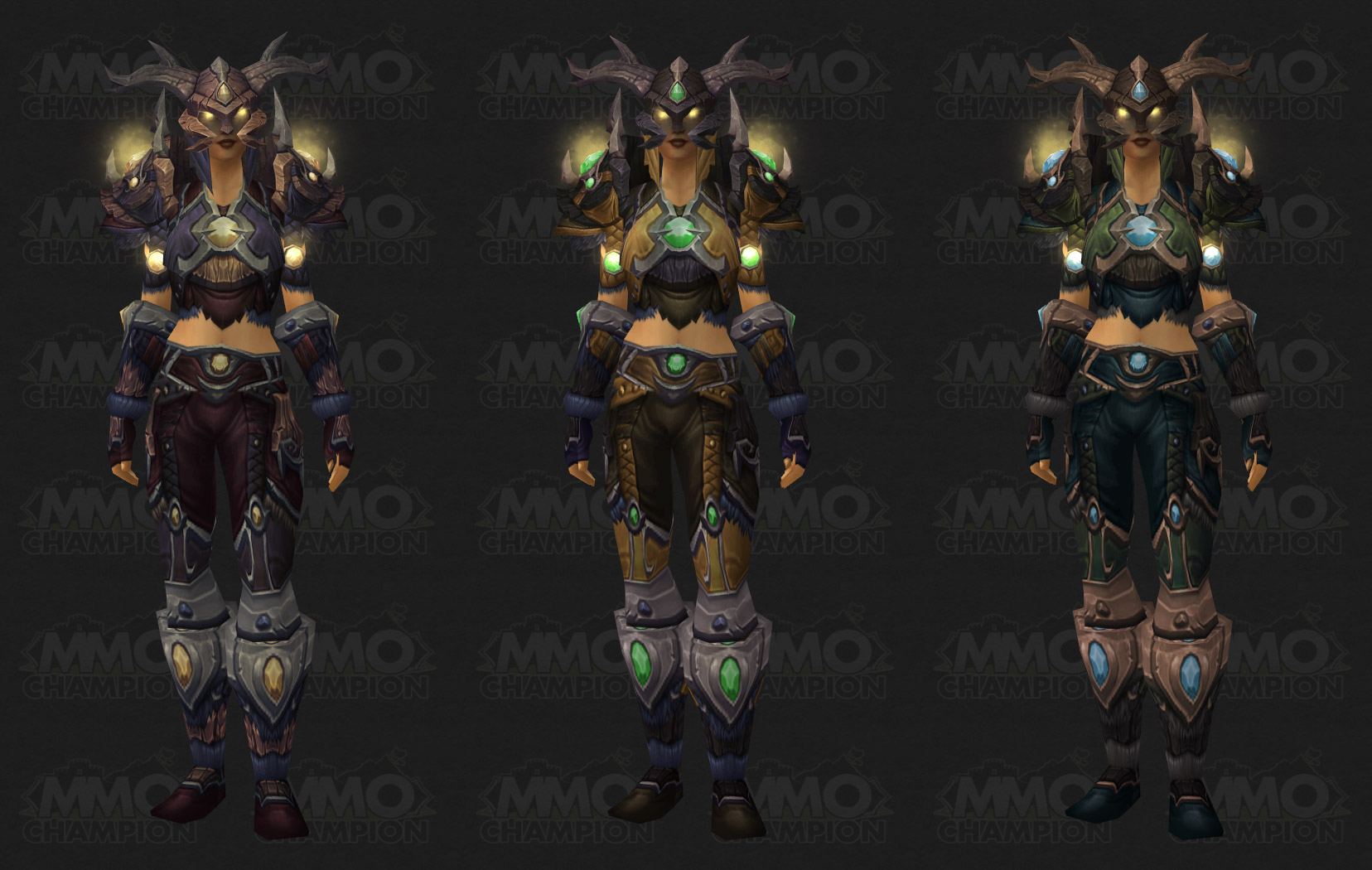 Warcraft armor skin mod anime picture