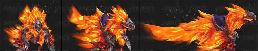 ПвЕ маунт - Огненный Анзу