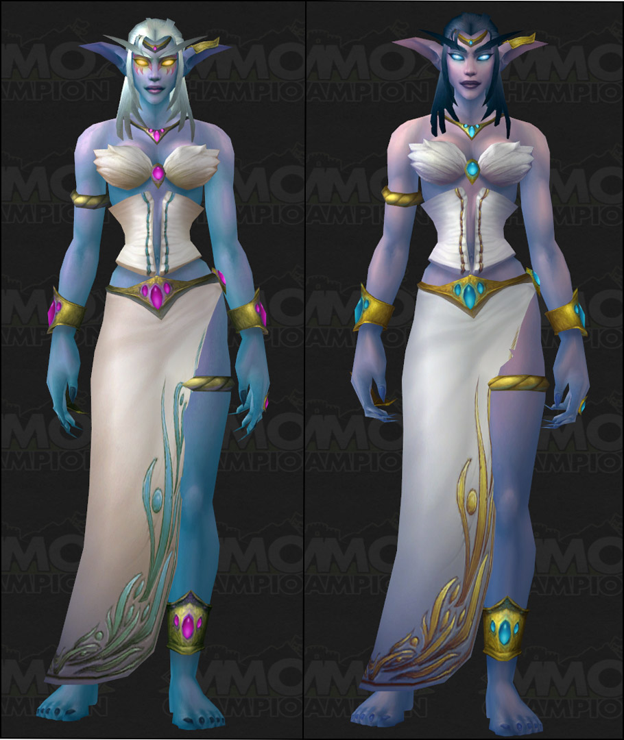 World of Warcraft New Character Models