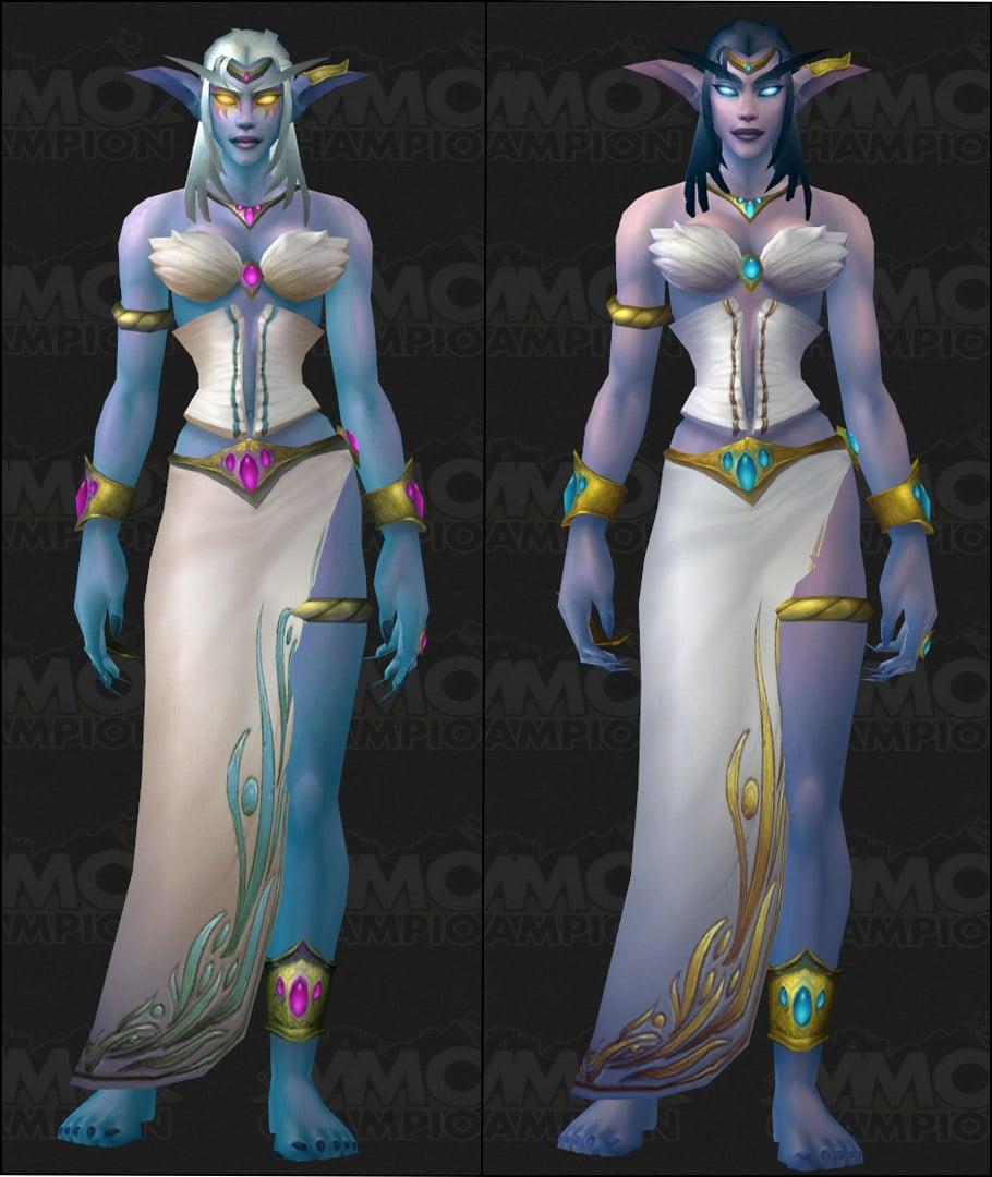 Blood Elf WoW New Character Models