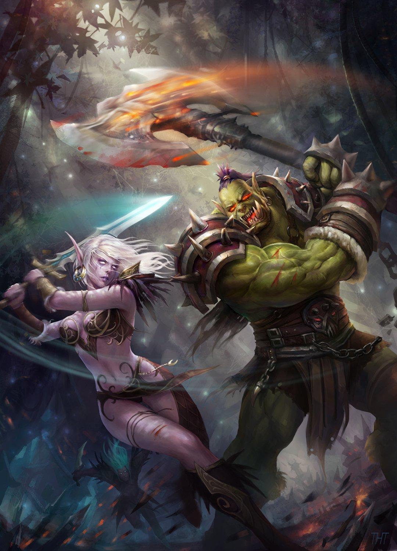 Orcs vs elves tgp hentai scenes