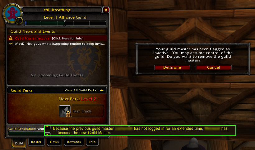 Wow armory not updating guild
