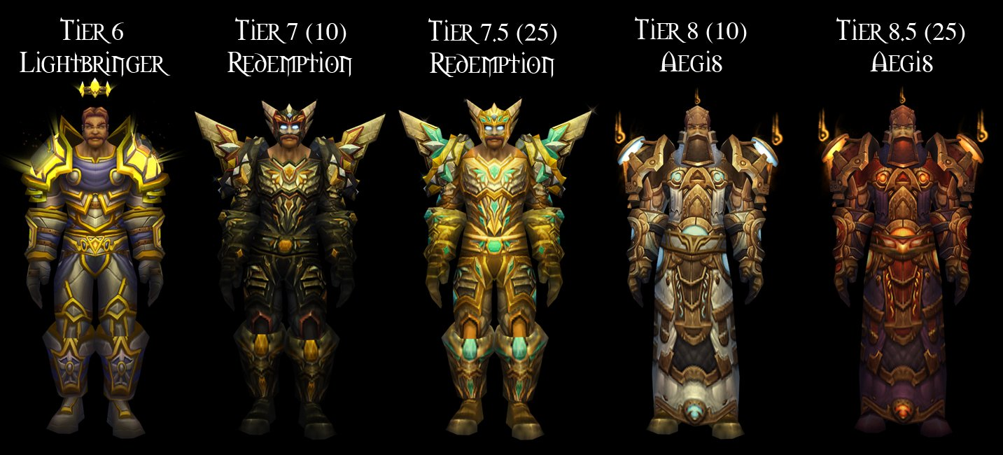 WoW Paladin Tier Sets