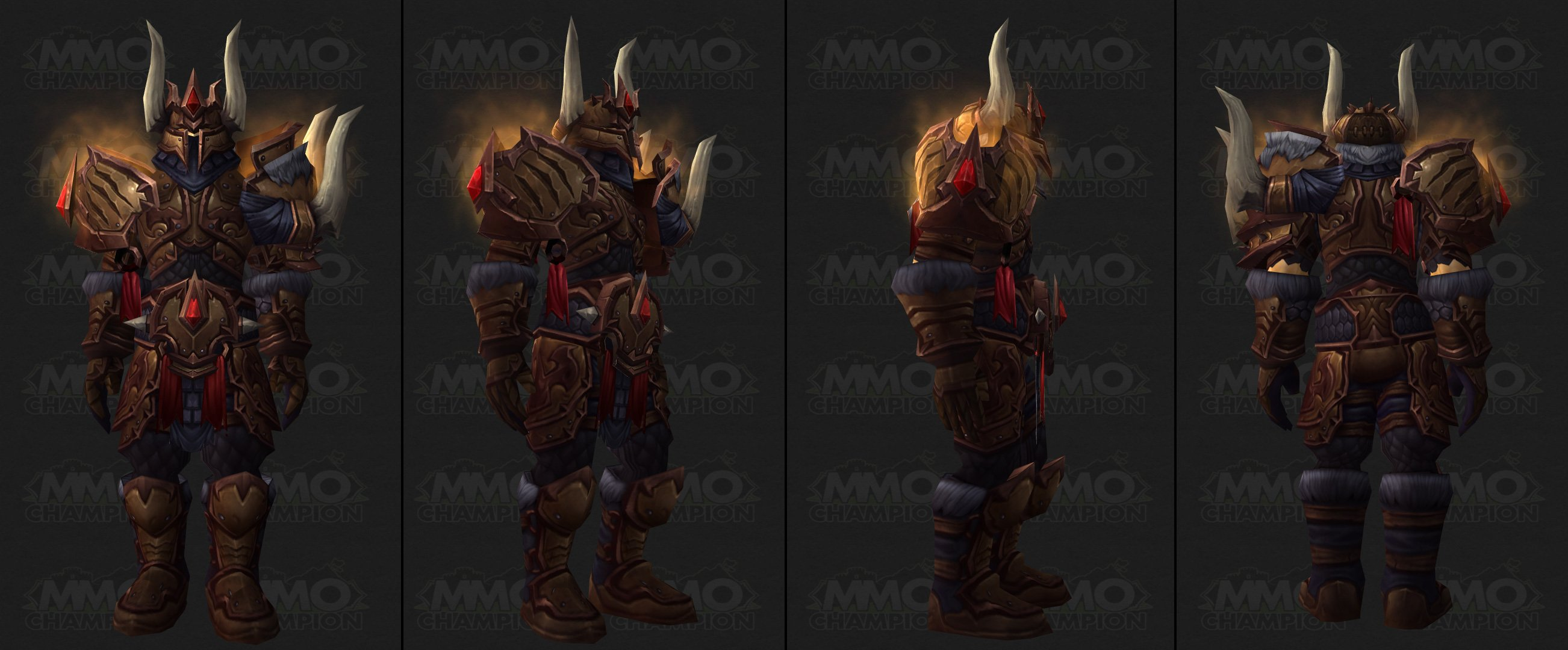 Warrior Male · Female · Video & Challenge Mode Armor Sets - MMO-Champion