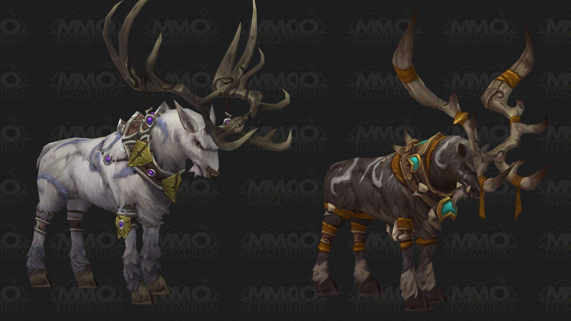 Druid Stag Form, Pet Quality Changes, Blue Posts, Upcoming Raid ...