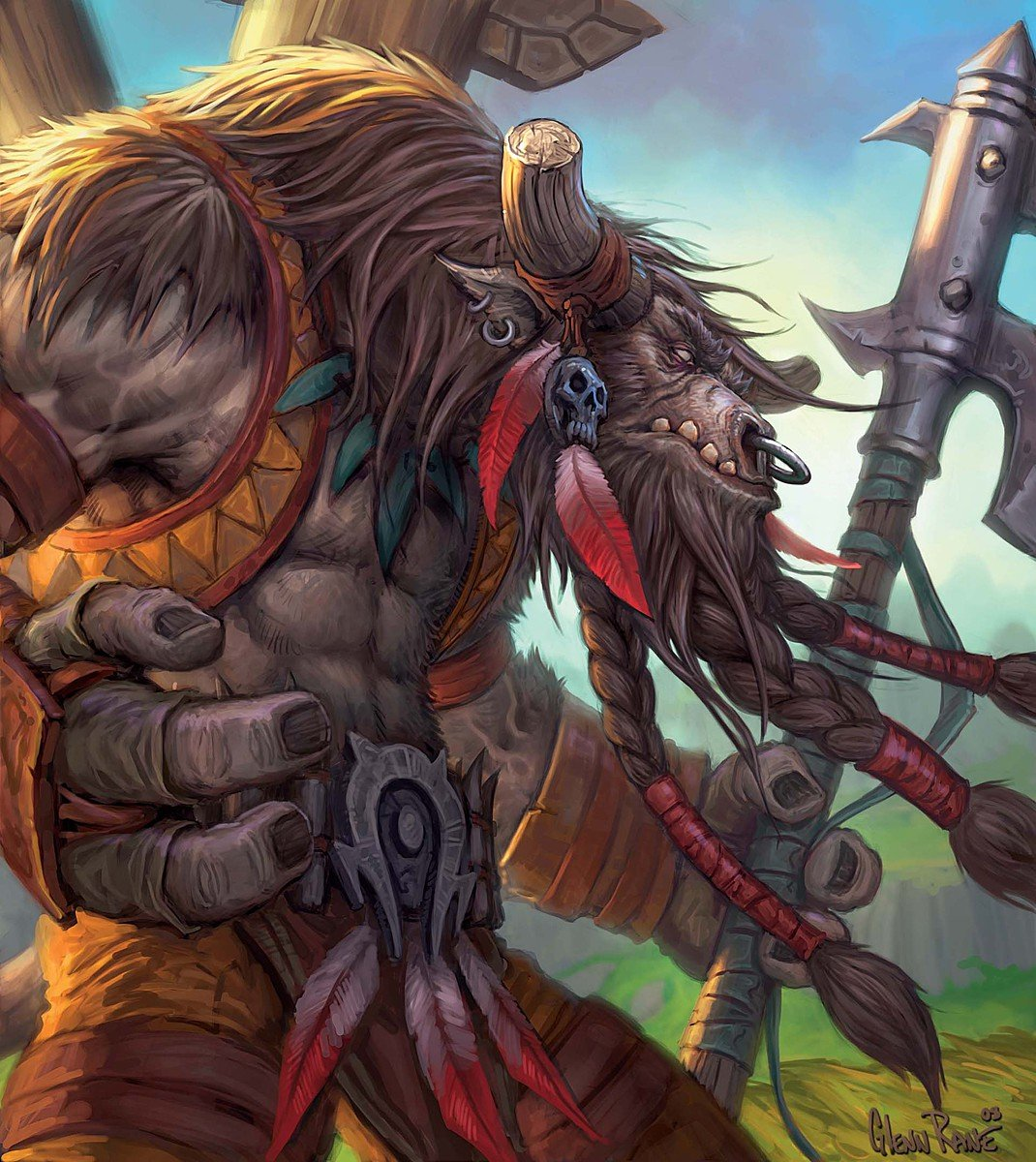 Tauren art adult picture