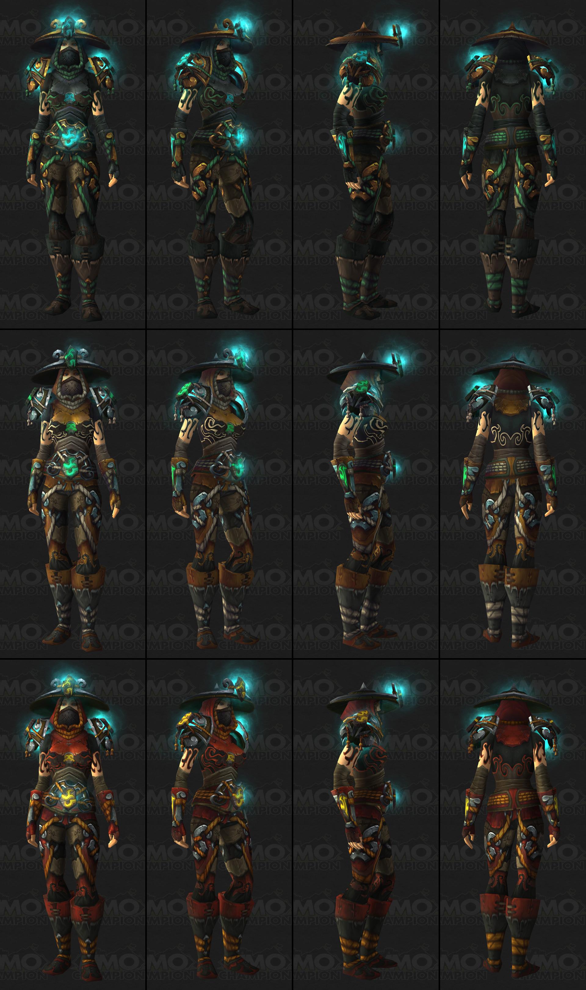 tier 15 armor sets mmochampion