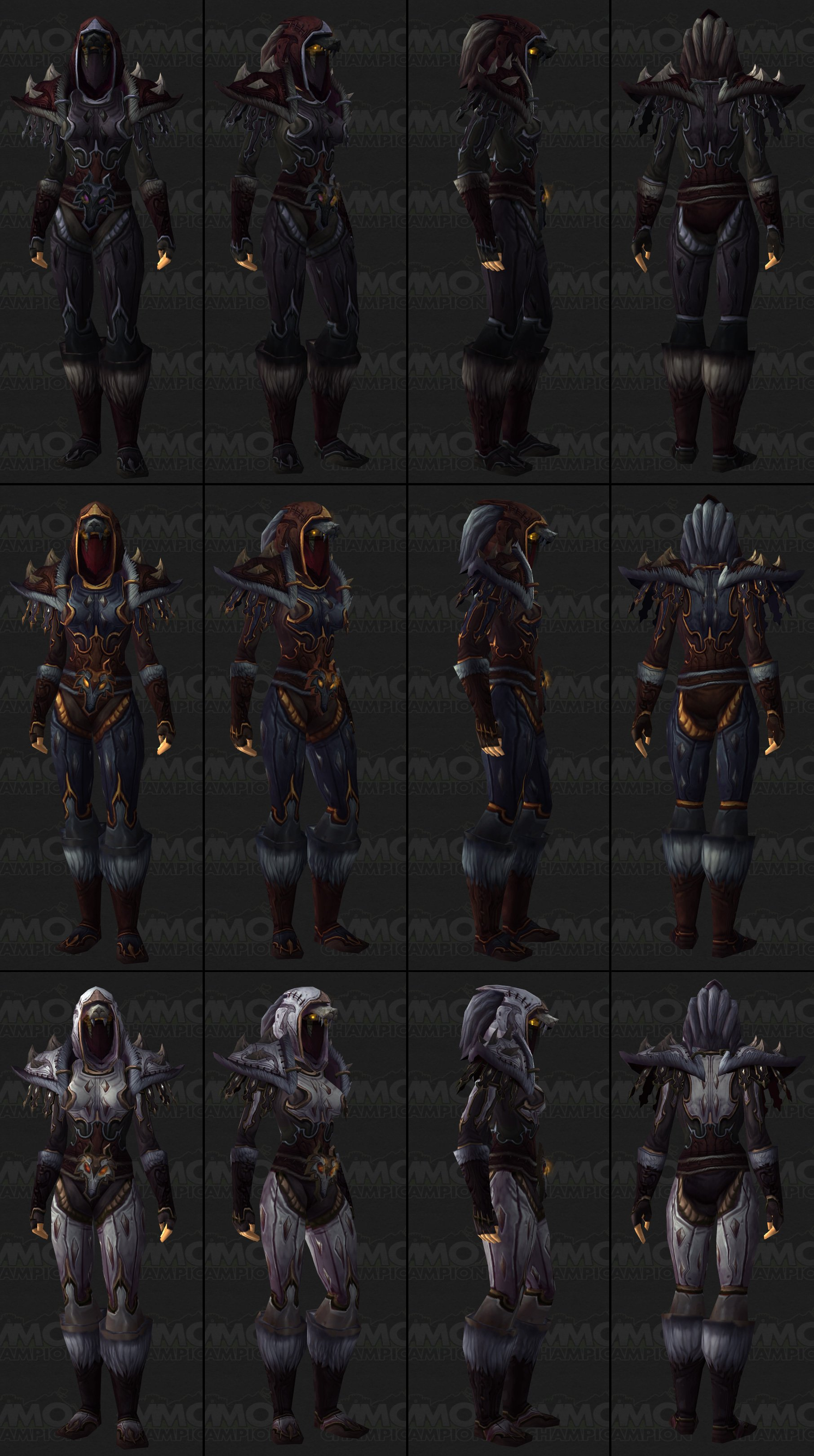 sexy female rogue tier 15 t15 items outfit looks