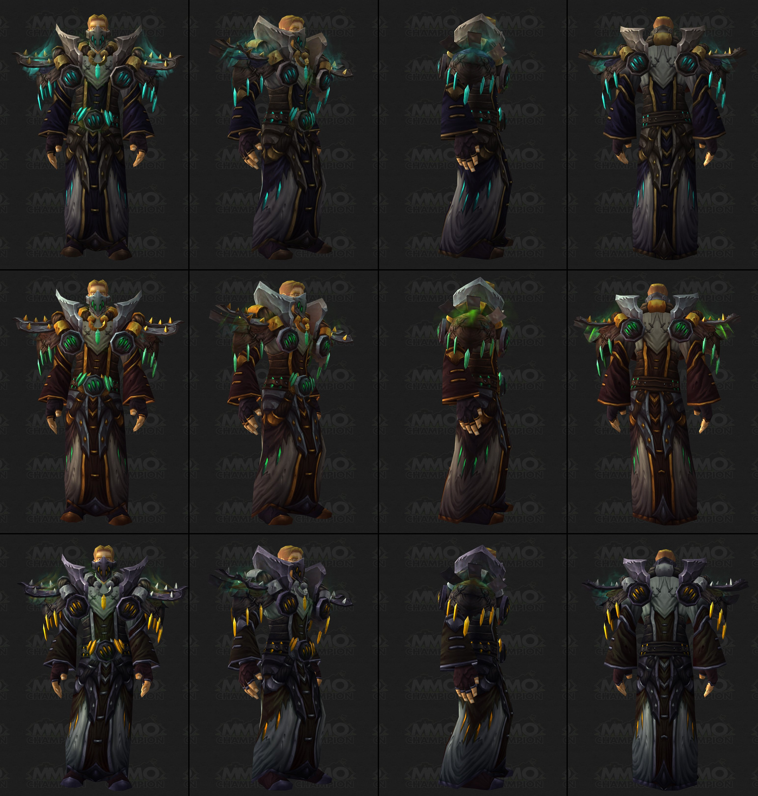 Declining quality of wow armour sets    - World of Warcraft