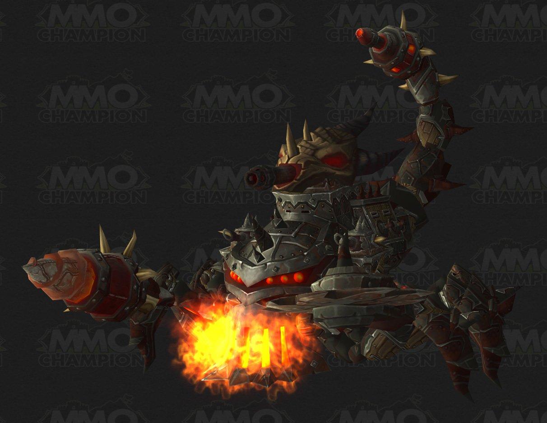 Spider mount! : wow