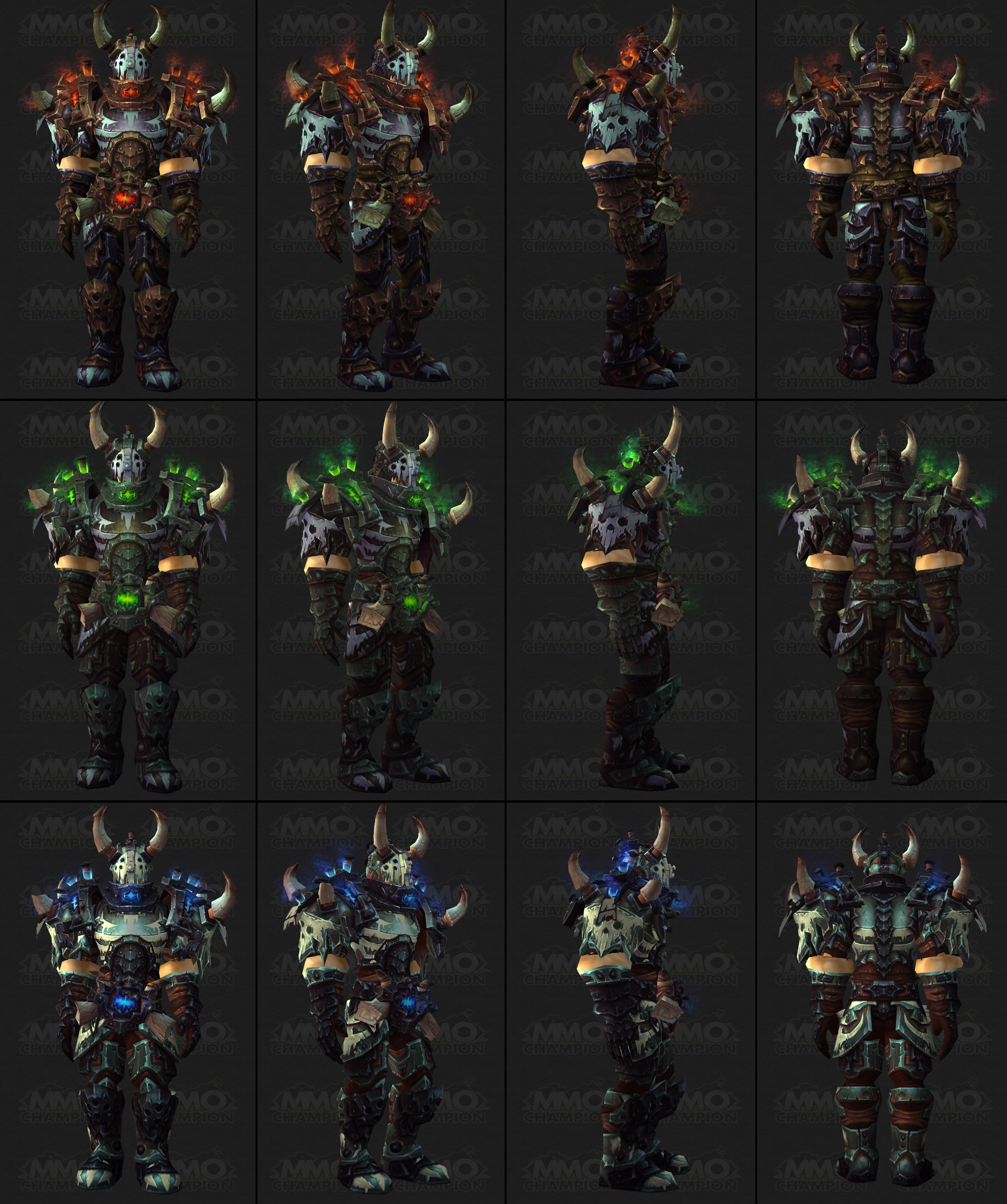 Death knight pvp gear 5 4 for Wow portent 5 4
