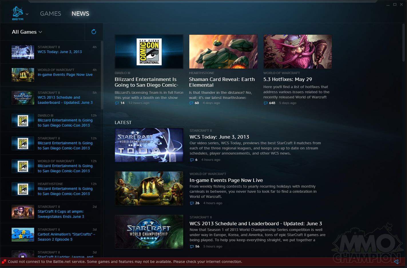Battle net Desktop Client - MMO-Champion