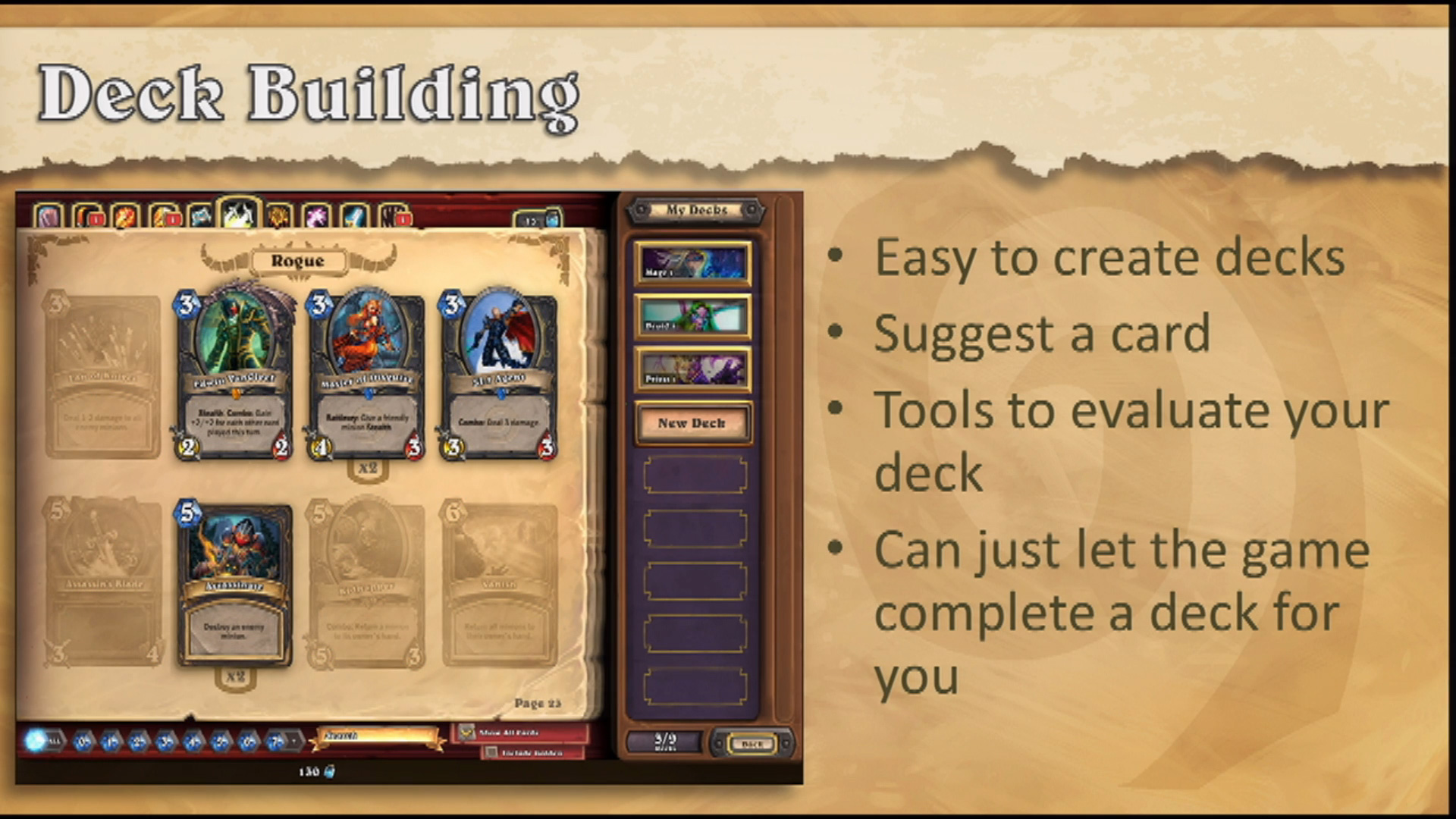 how to play hearthstone in wow