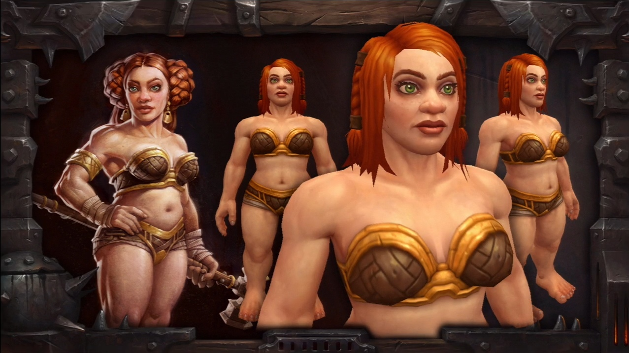 Pandaren girl naked sexy pictures