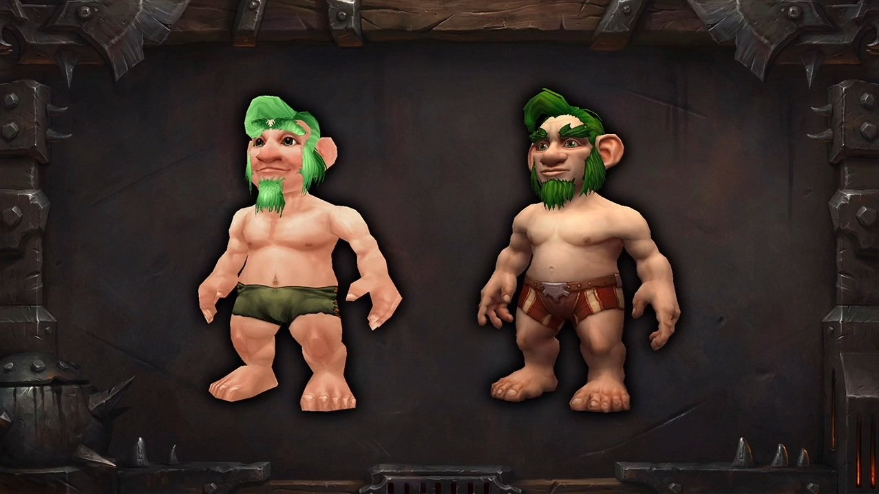 Dwarf nude wow worgen erotic comic