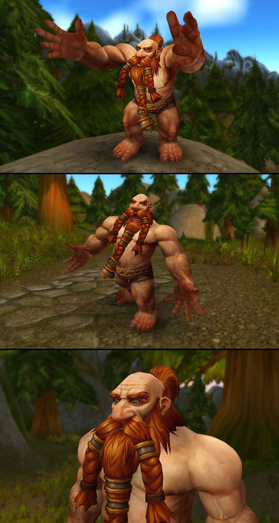 Dwarf nude wow worgen erotic video