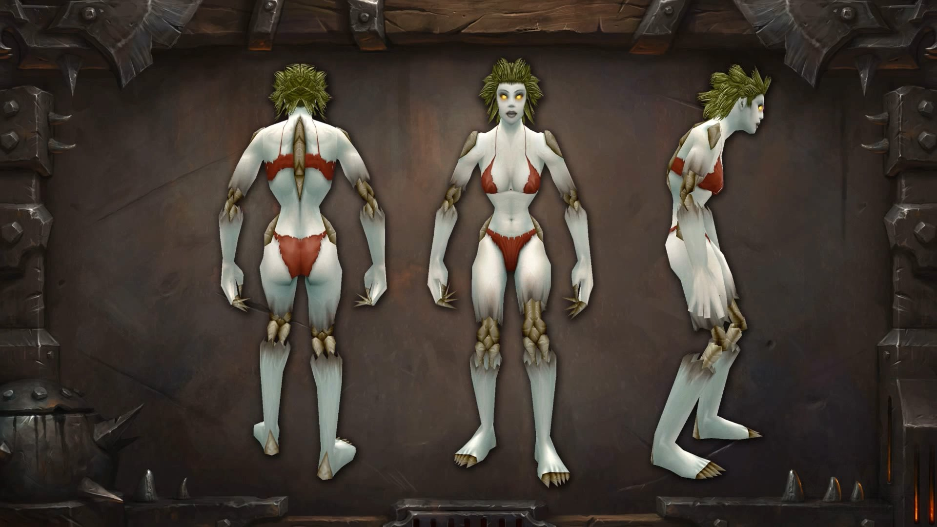New wow skins for humans wow naked tube