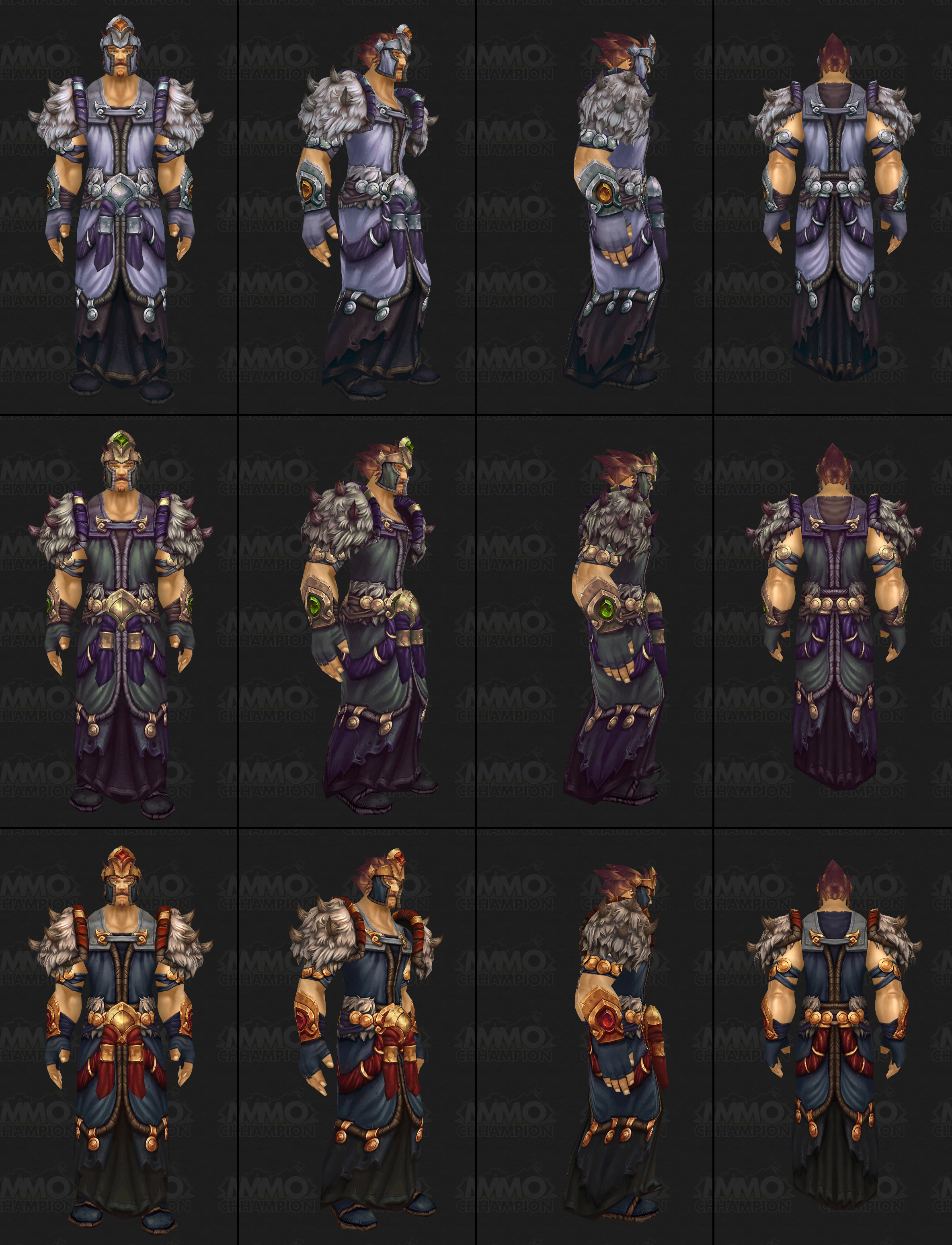 Warlords of draenor raid finder armor sets draenei guard armor set