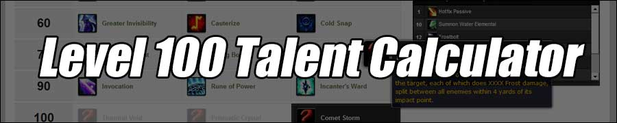 Warlords of Draenor Talent Calculator and Talents - MMO-Champion