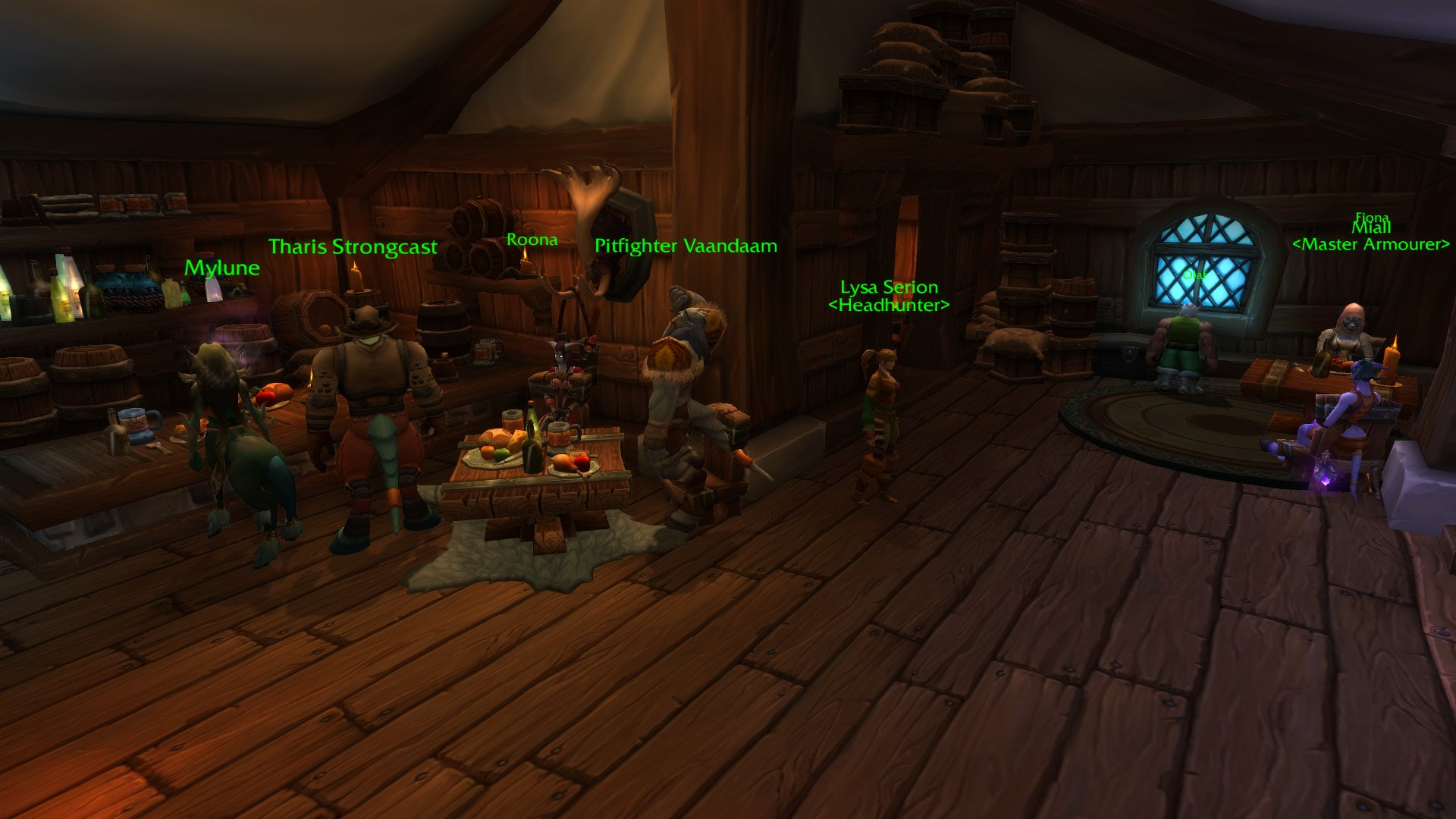 Warlords of draenor garrisons inn tavern mmo champion warlords of draenor garrisons inn tavern malvernweather Gallery
