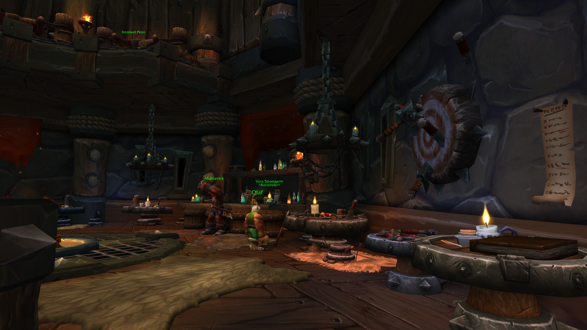Warlords of draenor garrisons inn tavern mmo champion level 2 horde screenshots malvernweather Images
