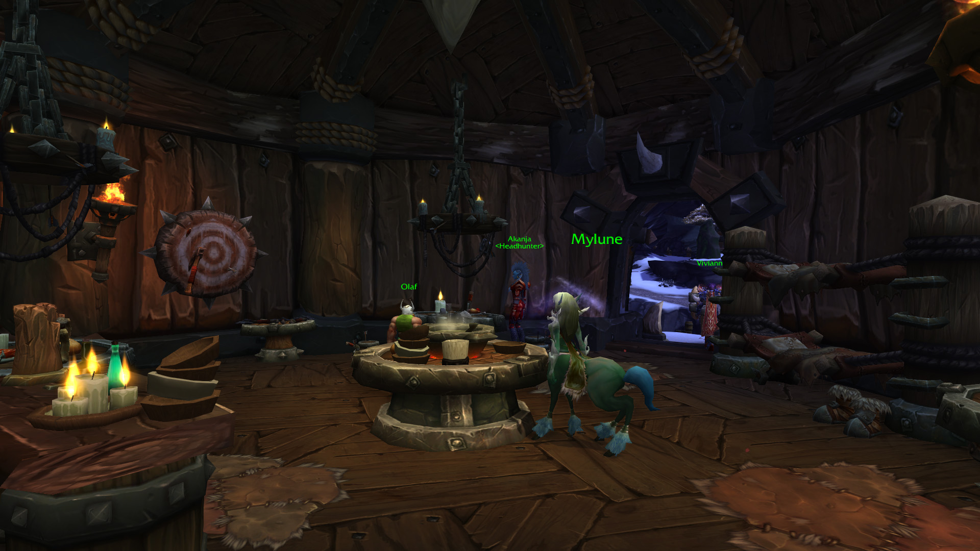 Warlords of draenor garrisons inn tavern mmo champion malvernweather Image collections