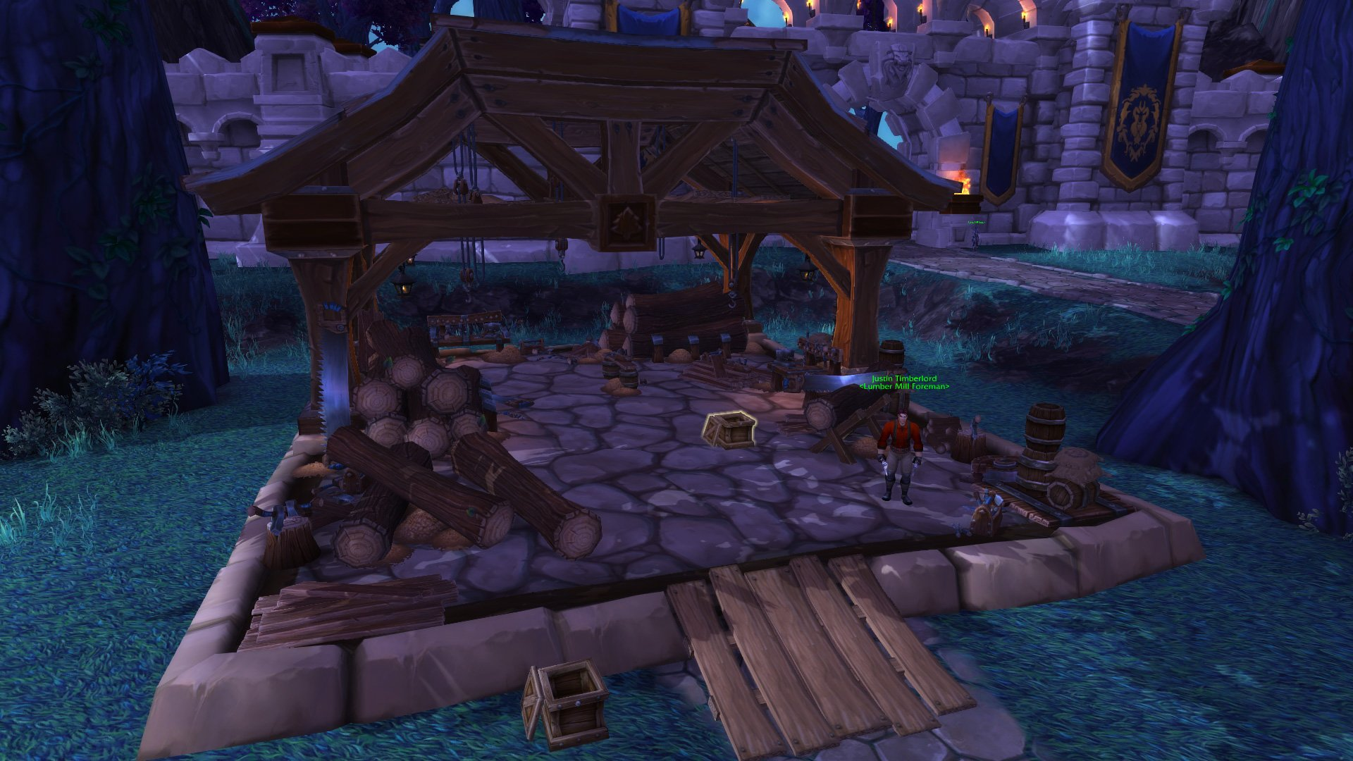 Warlords of draenor garrisons lumber mill mmo champion malvernweather Image collections