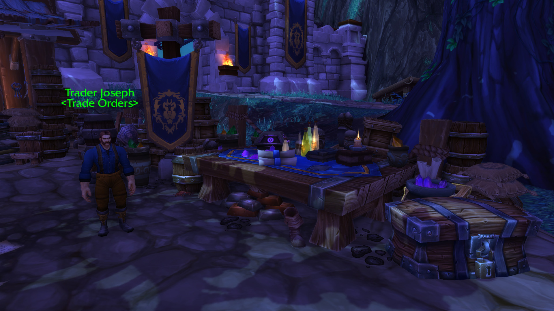 Warlords of draenor garrisons trading post mmo champion malvernweather Image collections