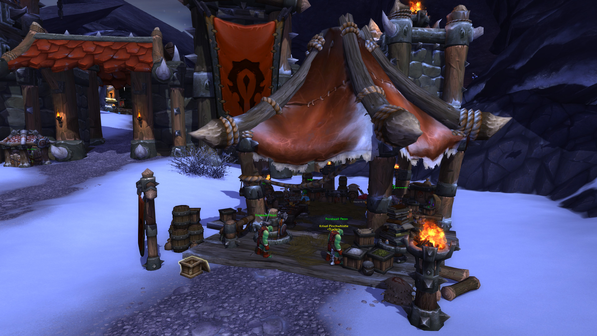 Level 2 trading post wow