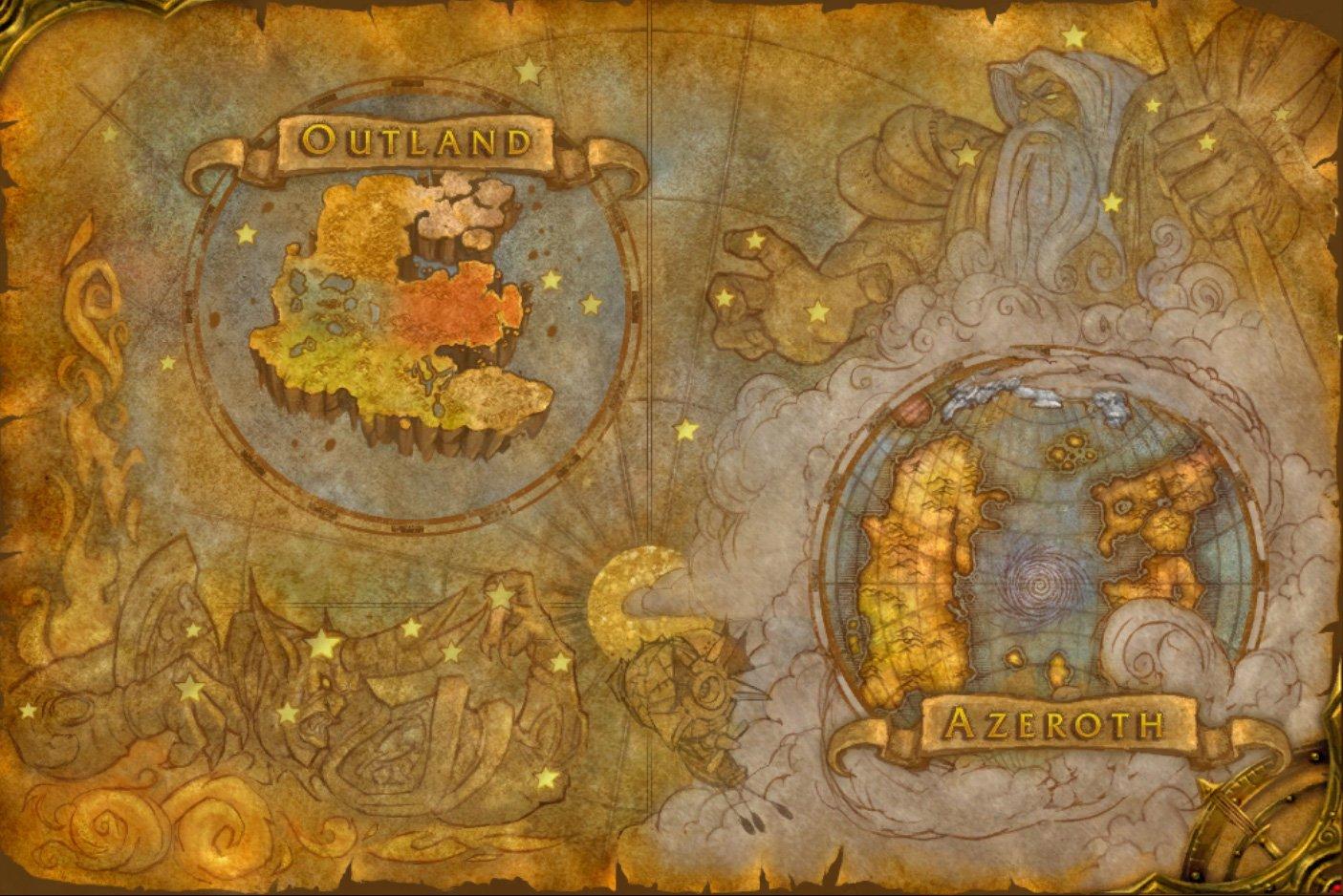 Sargeras on world map?
