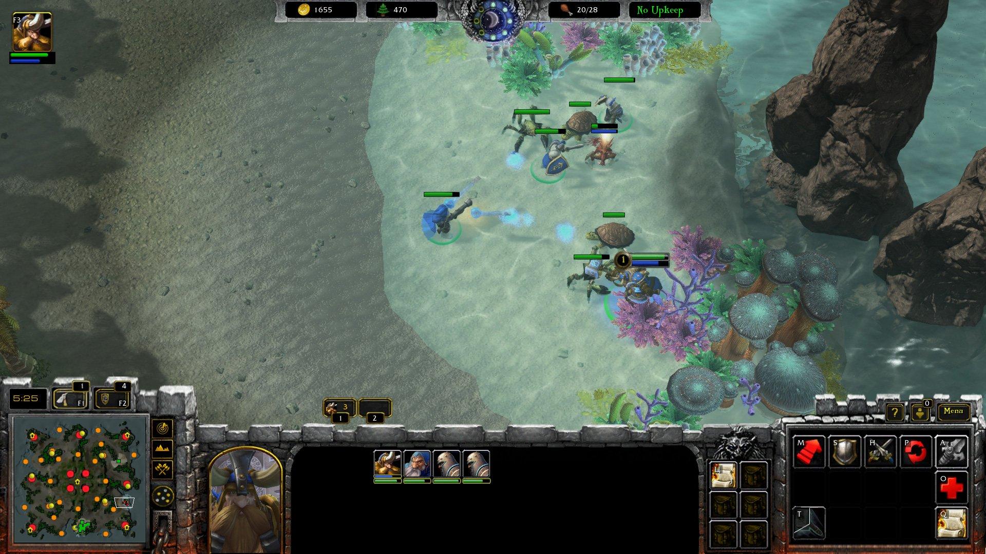 stratégie warcraft 3