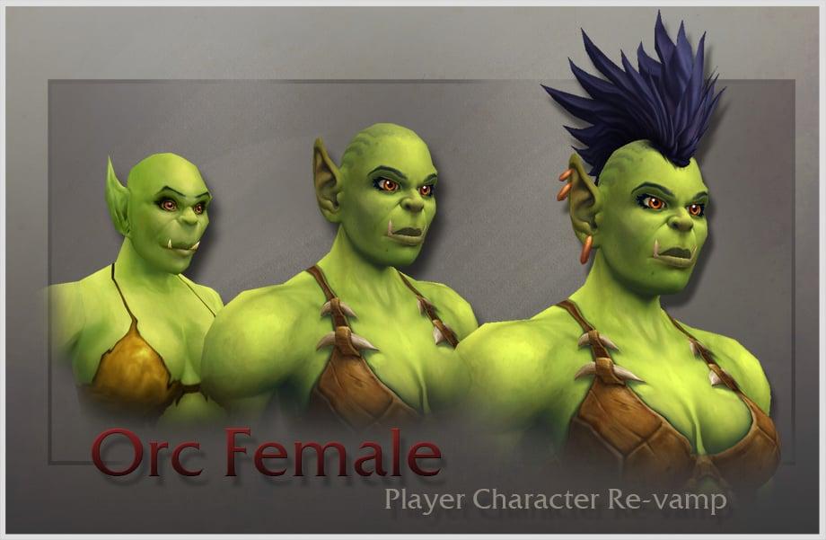 Femme orc 1