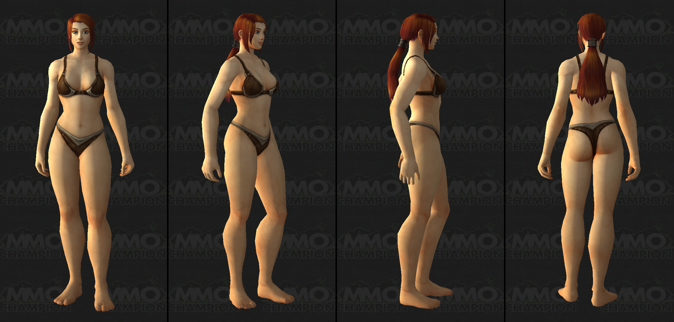 Nude female wow human