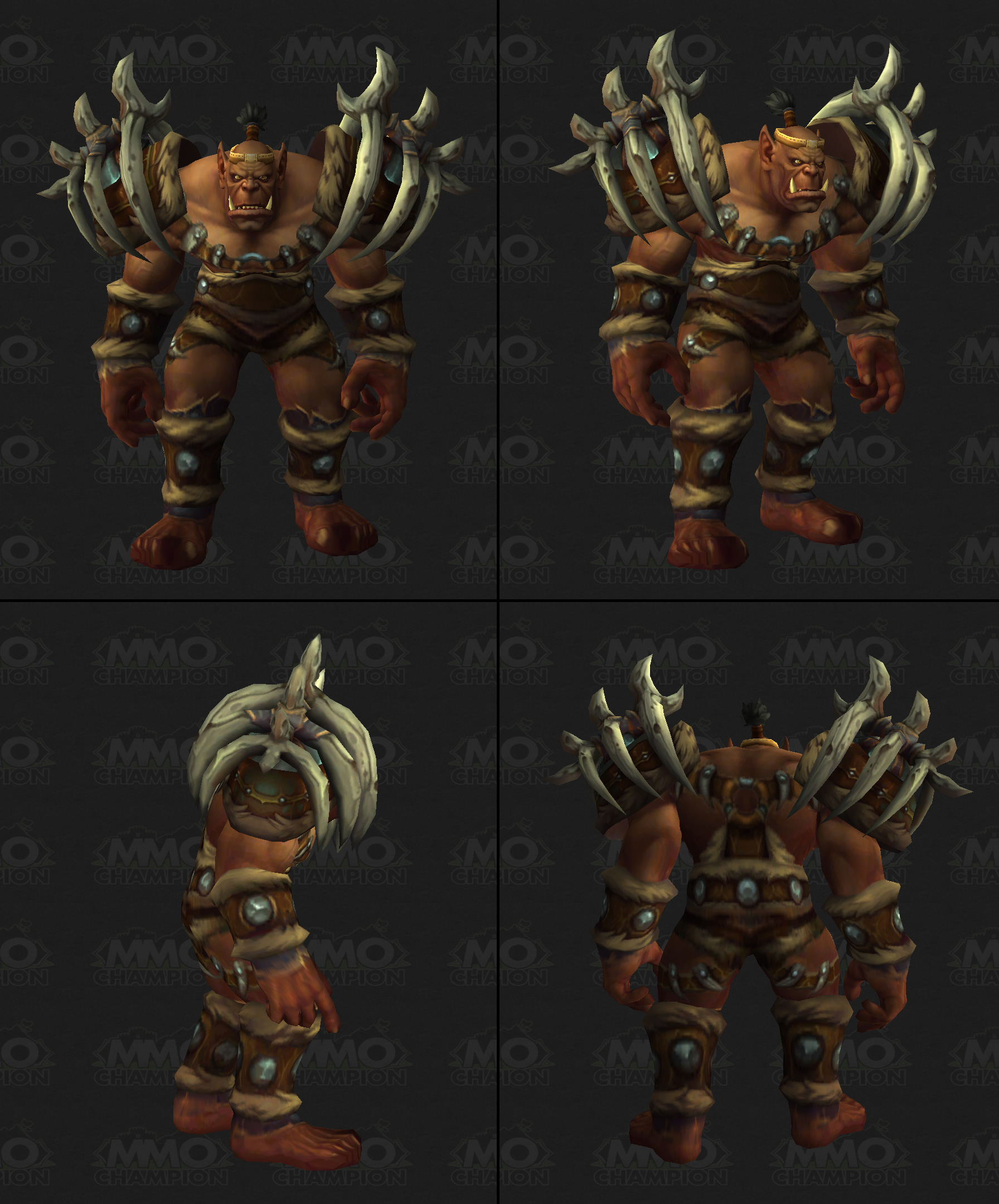 Warlords of Draenor - New Mage Spells, Orc Clan Armor Sets, Blue