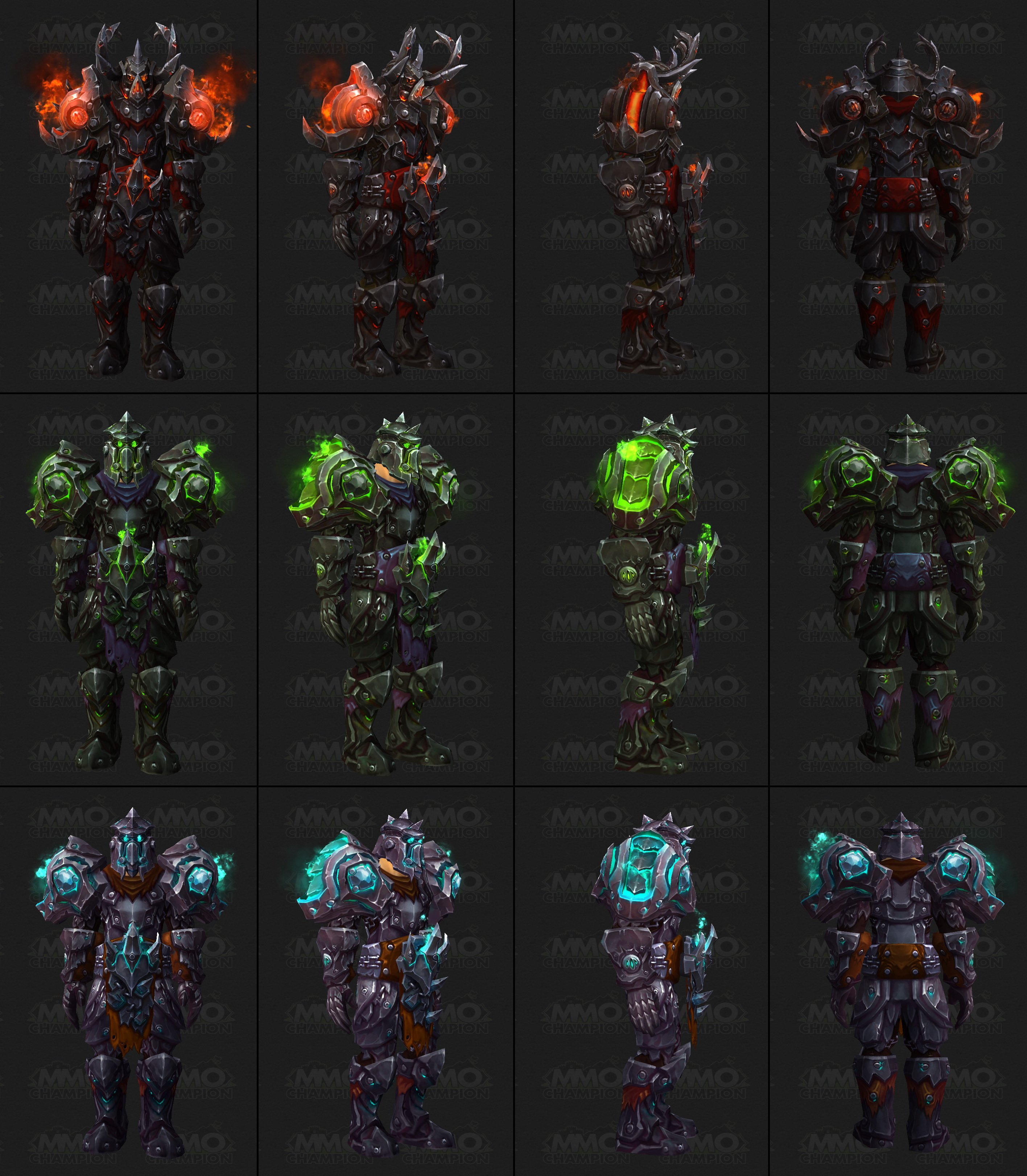 Tier 17 Warrior Armor Sets Comic Con Blue Posts Blue Tweets Azeroth Choppers  sc 1 st  MMO-Ch&ion & Tier 17 Warrior Armor Sets Comic Con Blue Posts Blue Tweets ...
