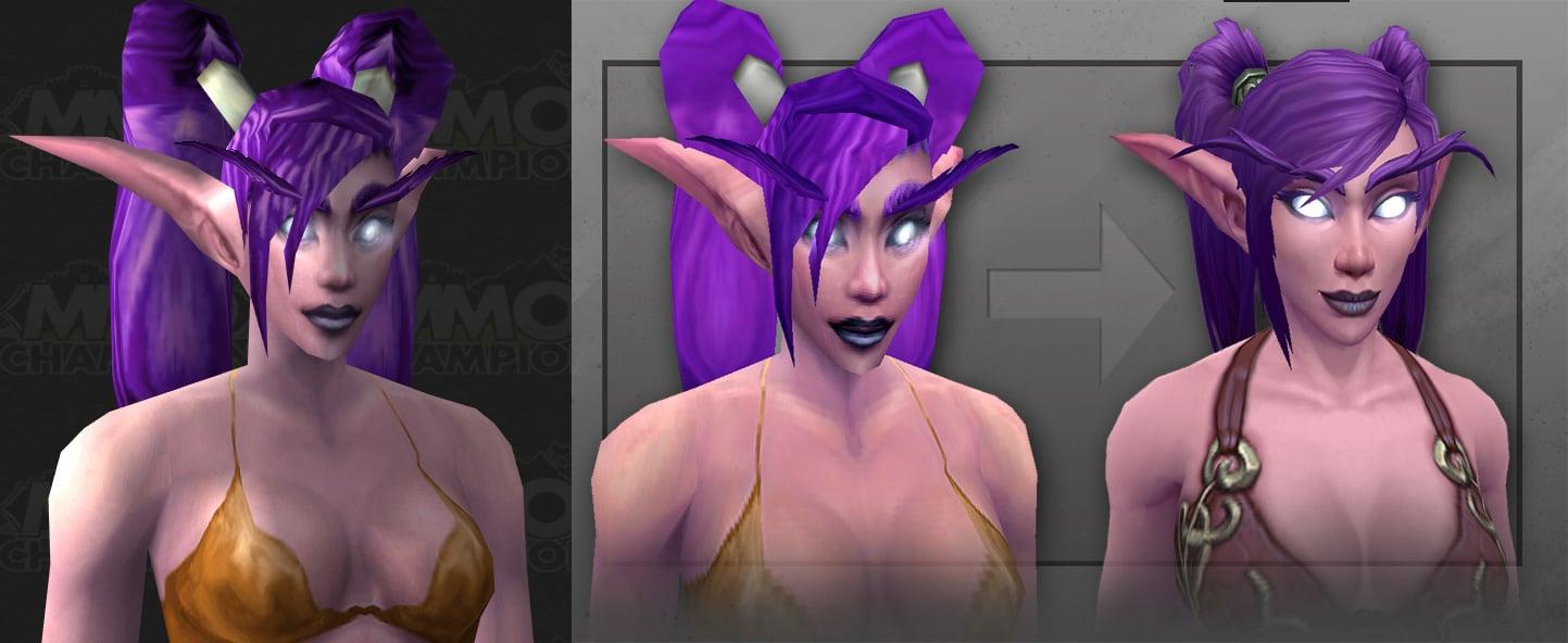 Artcraft - Huntress of Teldrassil - New Night Elf Female Character ...