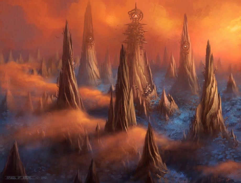 spires of arak