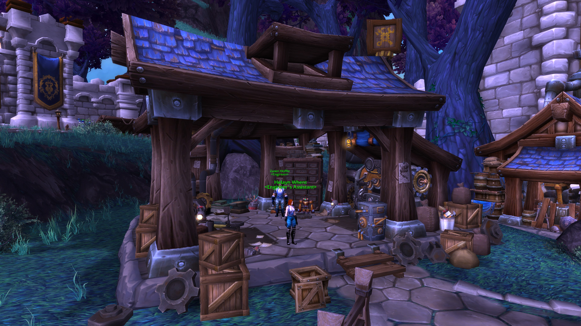 Warlords of draenor garrisons engineering works mmo champion level 3 alliance screenshots malvernweather Image collections