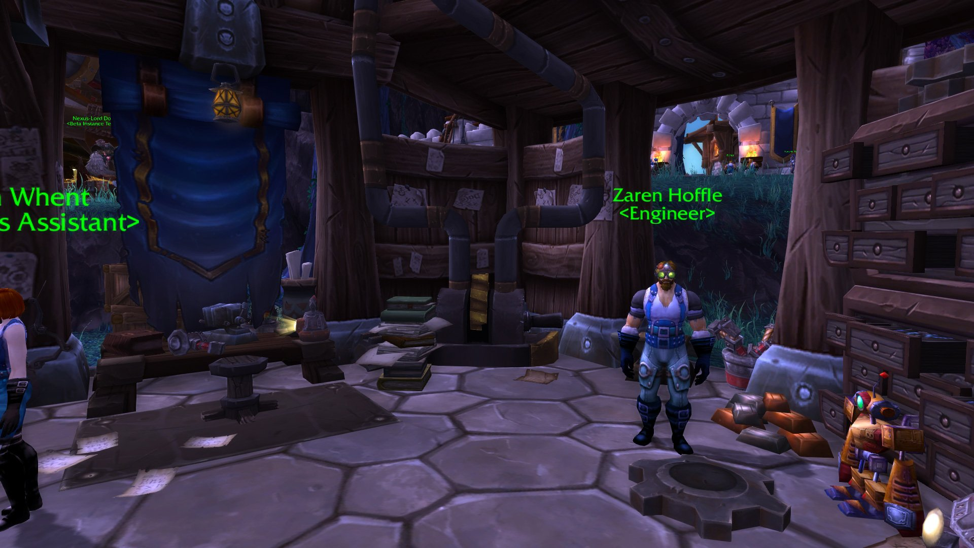Warlords of draenor garrisons engineering works mmo champion malvernweather Images
