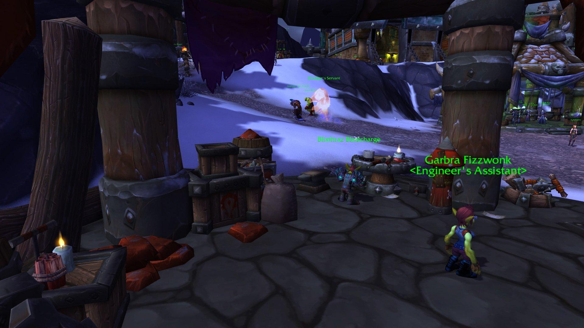 Warlords of draenor garrisons engineering works mmo champion level 2 alliance screenshots malvernweather Choice Image
