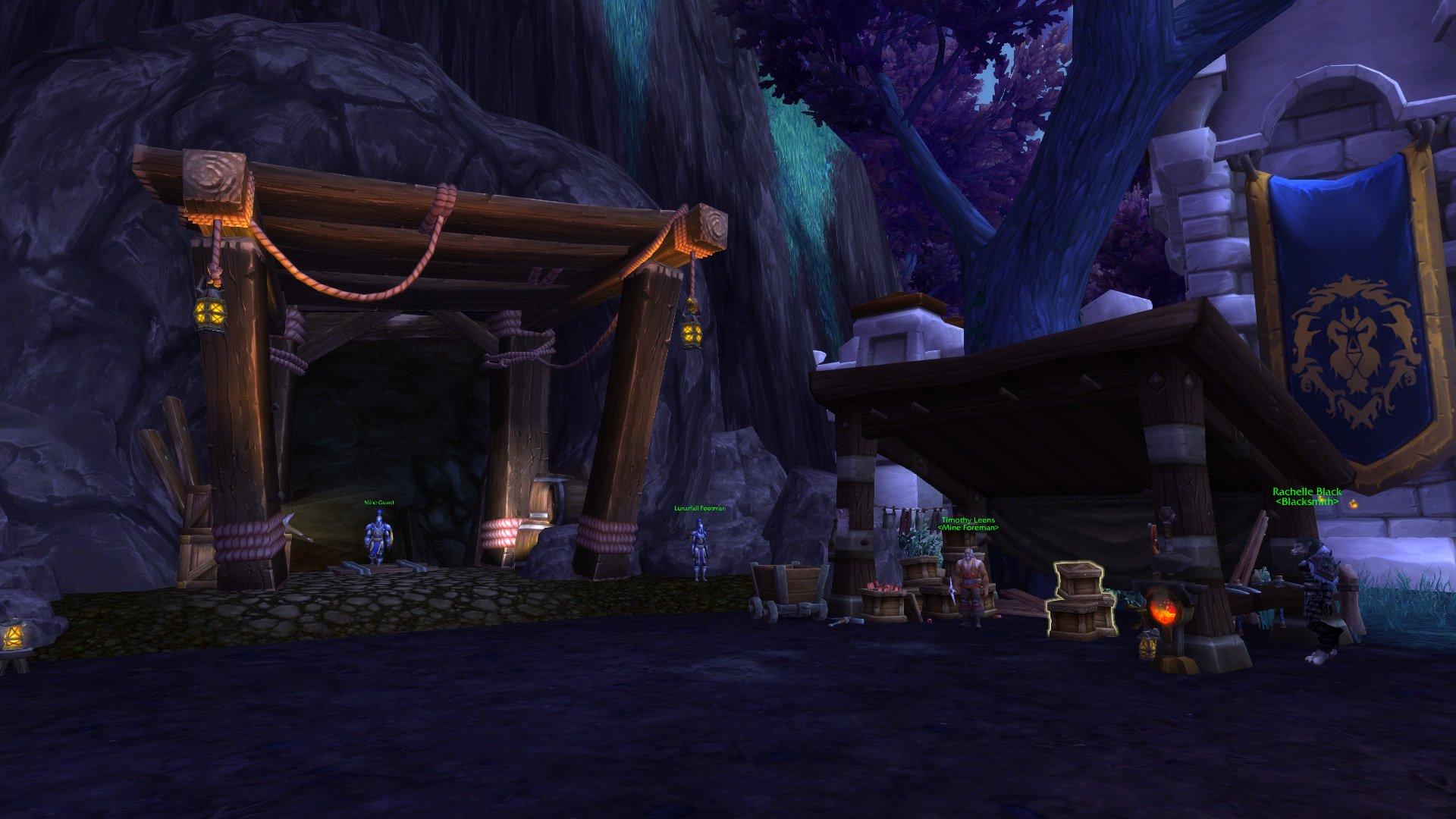 Warlords of draenor garrisons lunarfall excavation frostwall level 3 screenshots malvernweather Choice Image