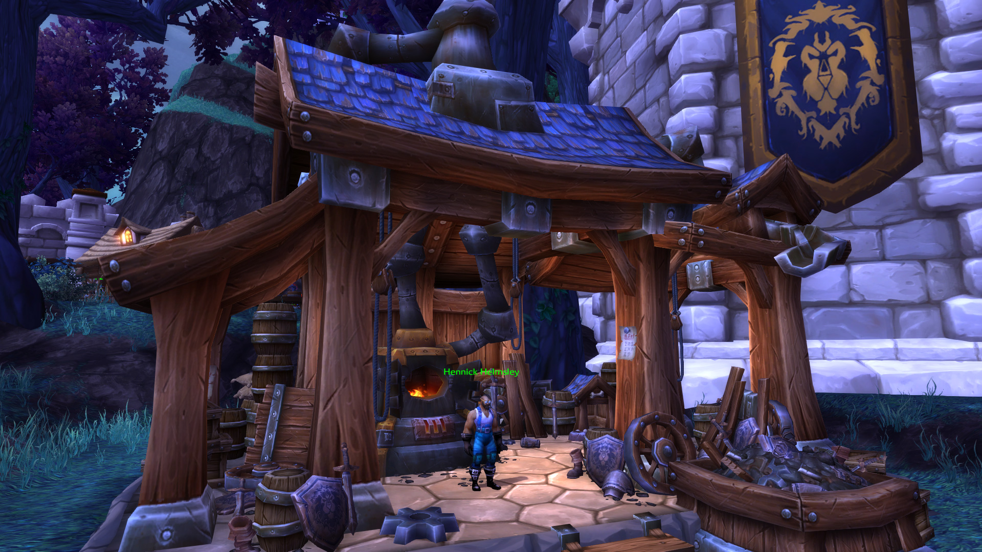 Warlords of Draenor - Garrisons: Salvage Yard - MMO-Champion
